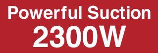 جارو برقی 2300 وات هیتاچی CV-SE230V