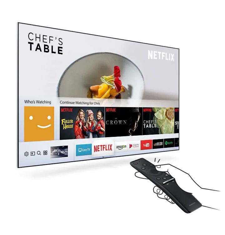 استفاده از رابط کاربری One Depth در تلویزیون سامسونگ N6900