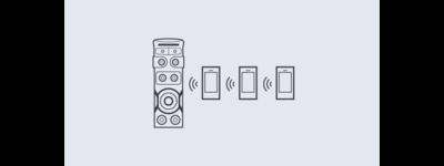 اتصال با بلوتوث و NFC در سیستم صوتی سونی v72d