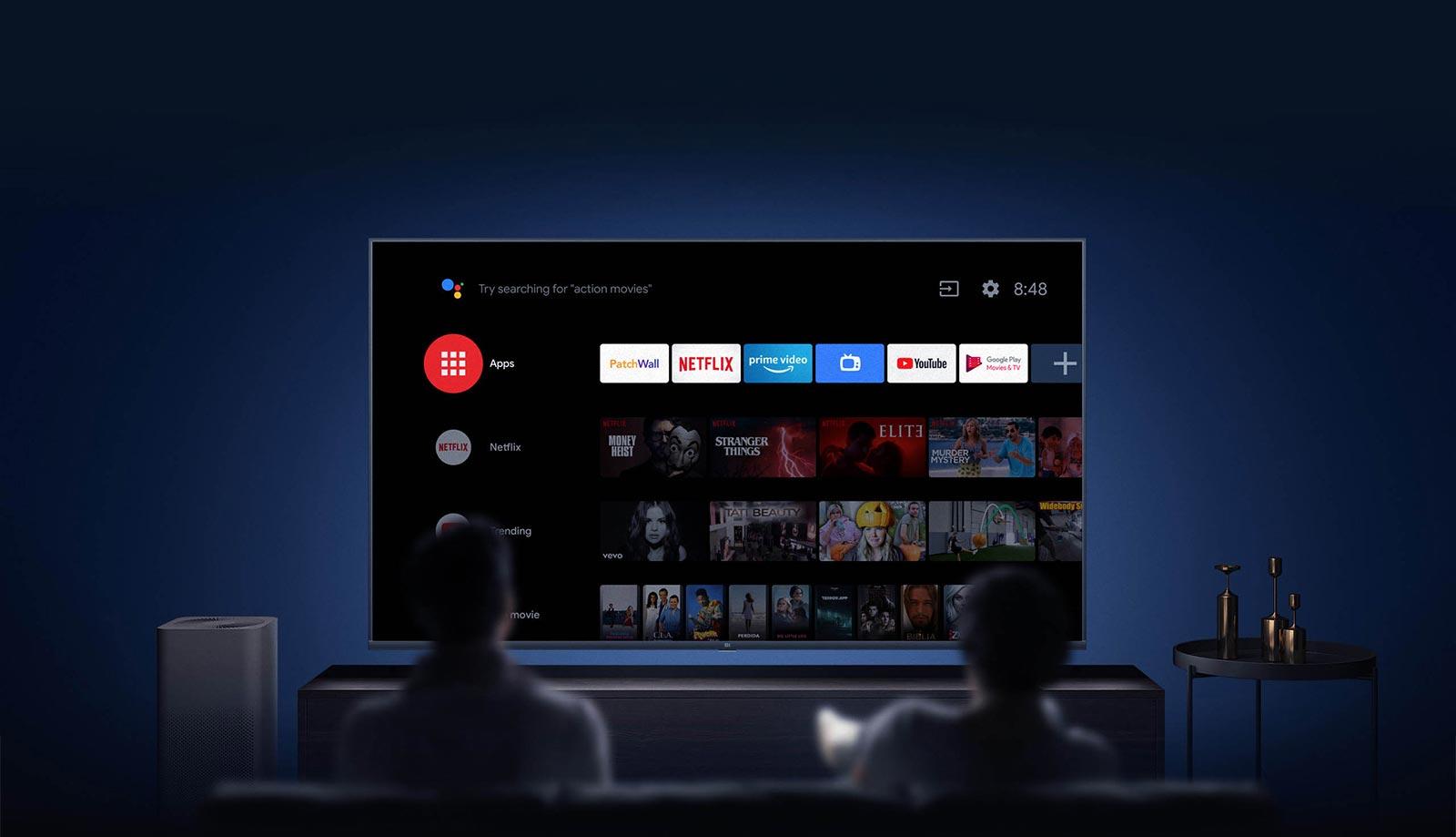 تلویزیون هوشمند شیائومی L65M5-5ASP با سیستم عامل اندروید 9