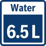 مصرف 6.5 لیتر آب برای هر دور شستشو در ماشین ظرفشویی SMS45II10Q